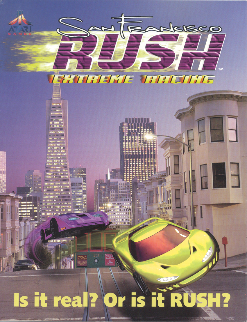 San Francisco Rush (boot rom L 1.0) flyer