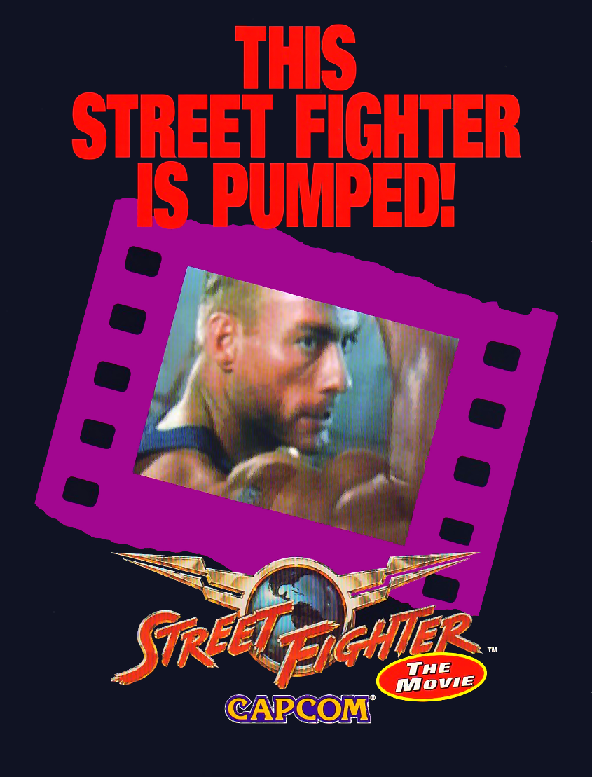 Street Fighter: The Movie (v1.10) flyer