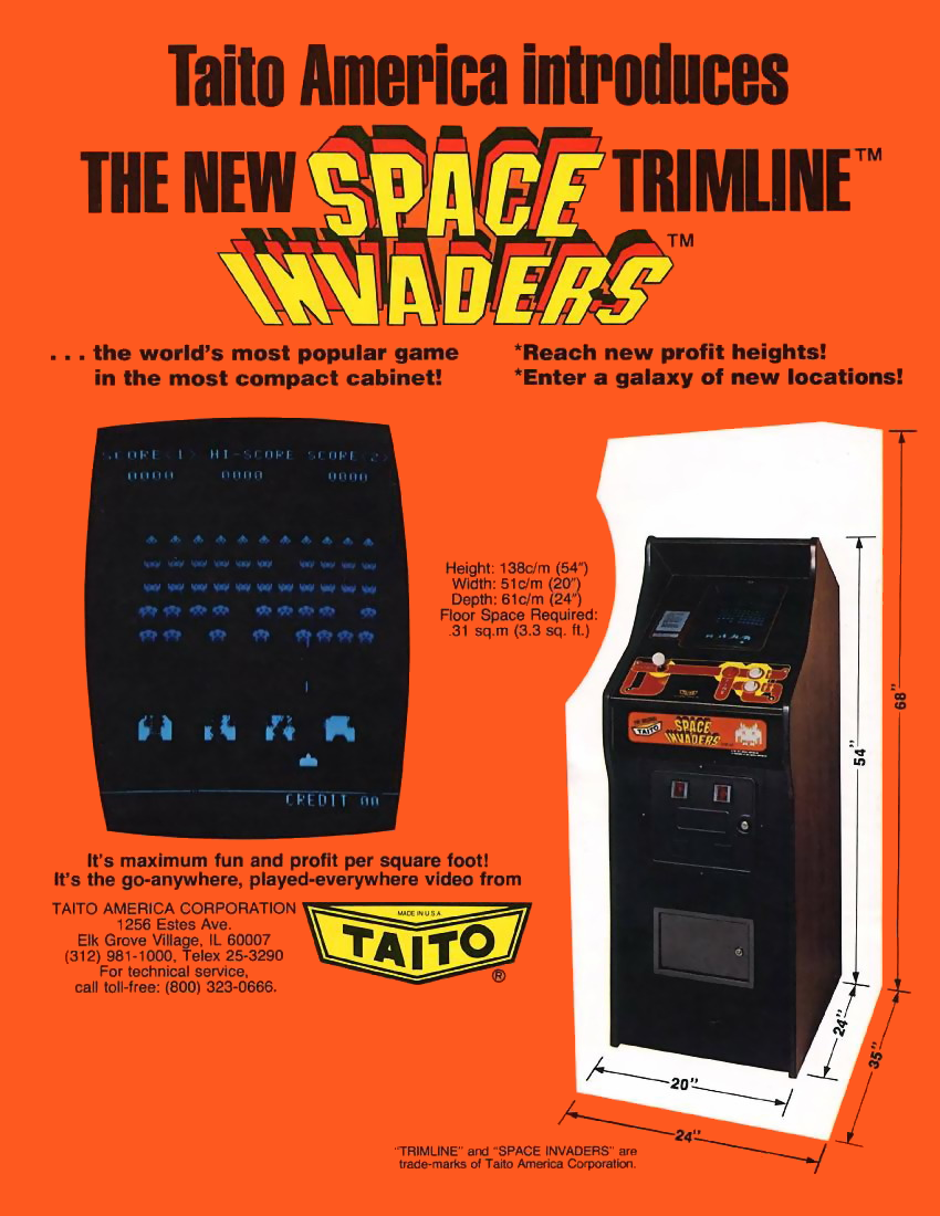 Space Invaders (CV Version, larger roms) flyer