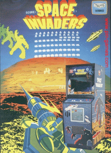 Space Invaders (SV Version rev 2) flyer