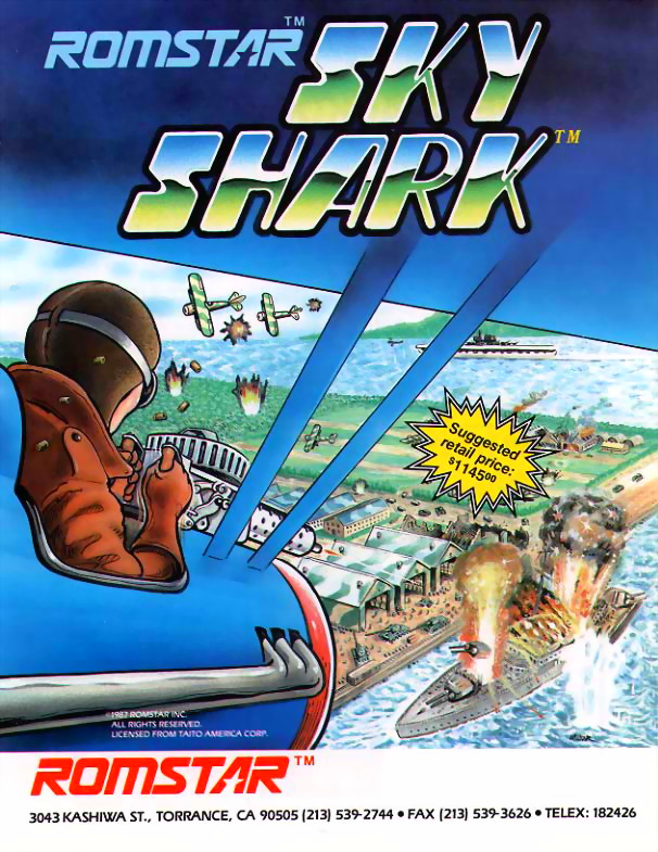 Sky Shark (US, set 1) flyer