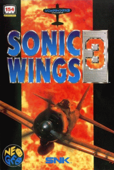 Aero Fighters 3 / Sonic Wings 3 flyer