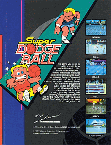 Super Dodge Ball (US) flyer
