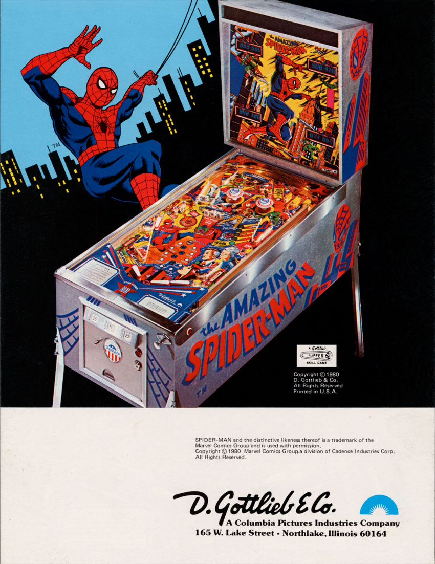 The Amazing Spider-Man flyer