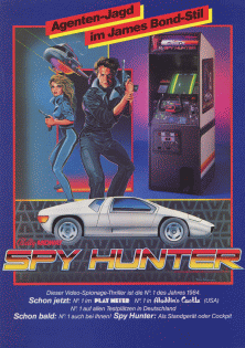 Spy Hunter (Playtronic license) flyer