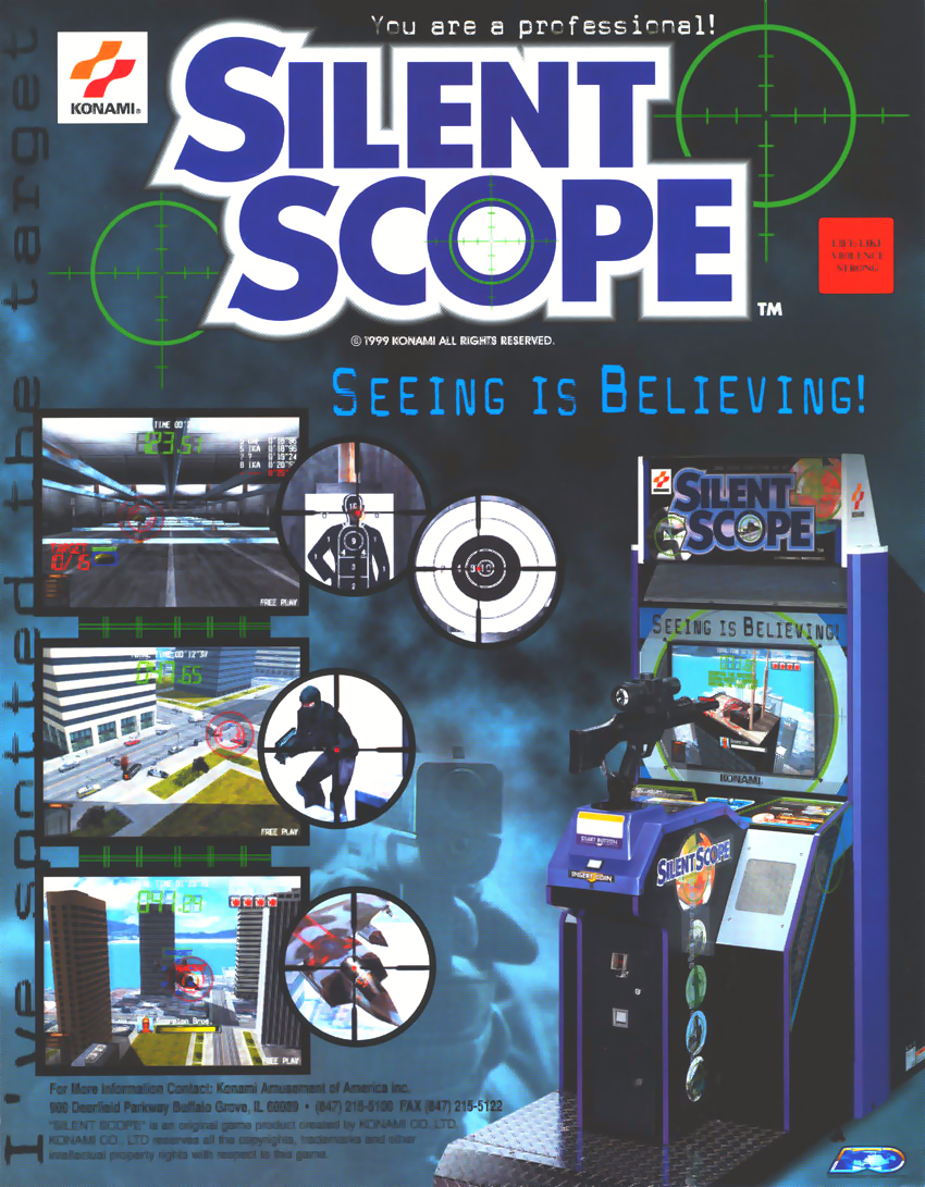 Silent Scope (ver xxD, Ver 1.33) flyer
