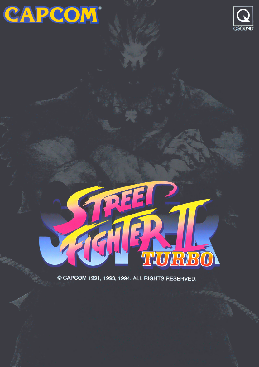 Super Street Fighter II Turbo (World 940223) flyer