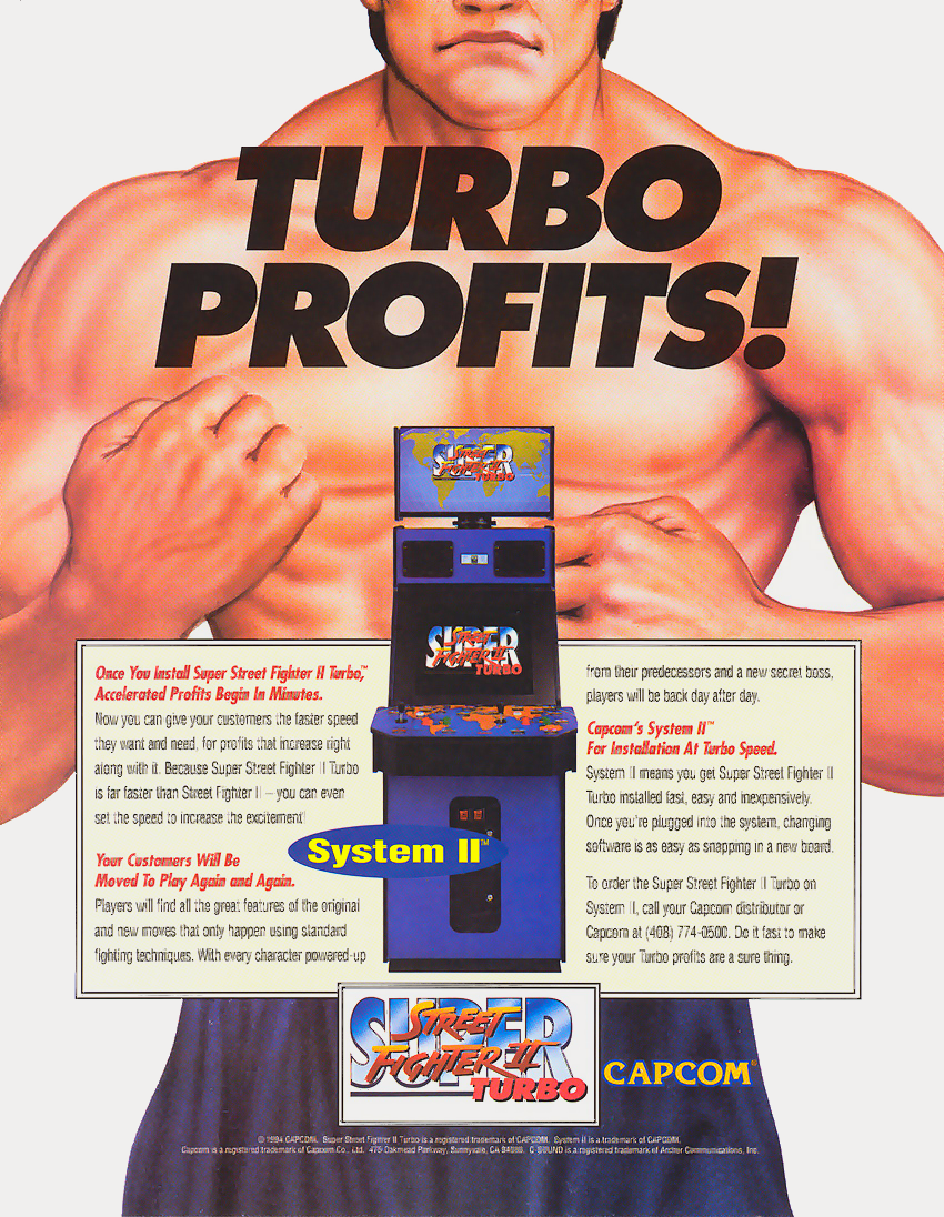 Super Street Fighter II Turbo (USA 940323) flyer