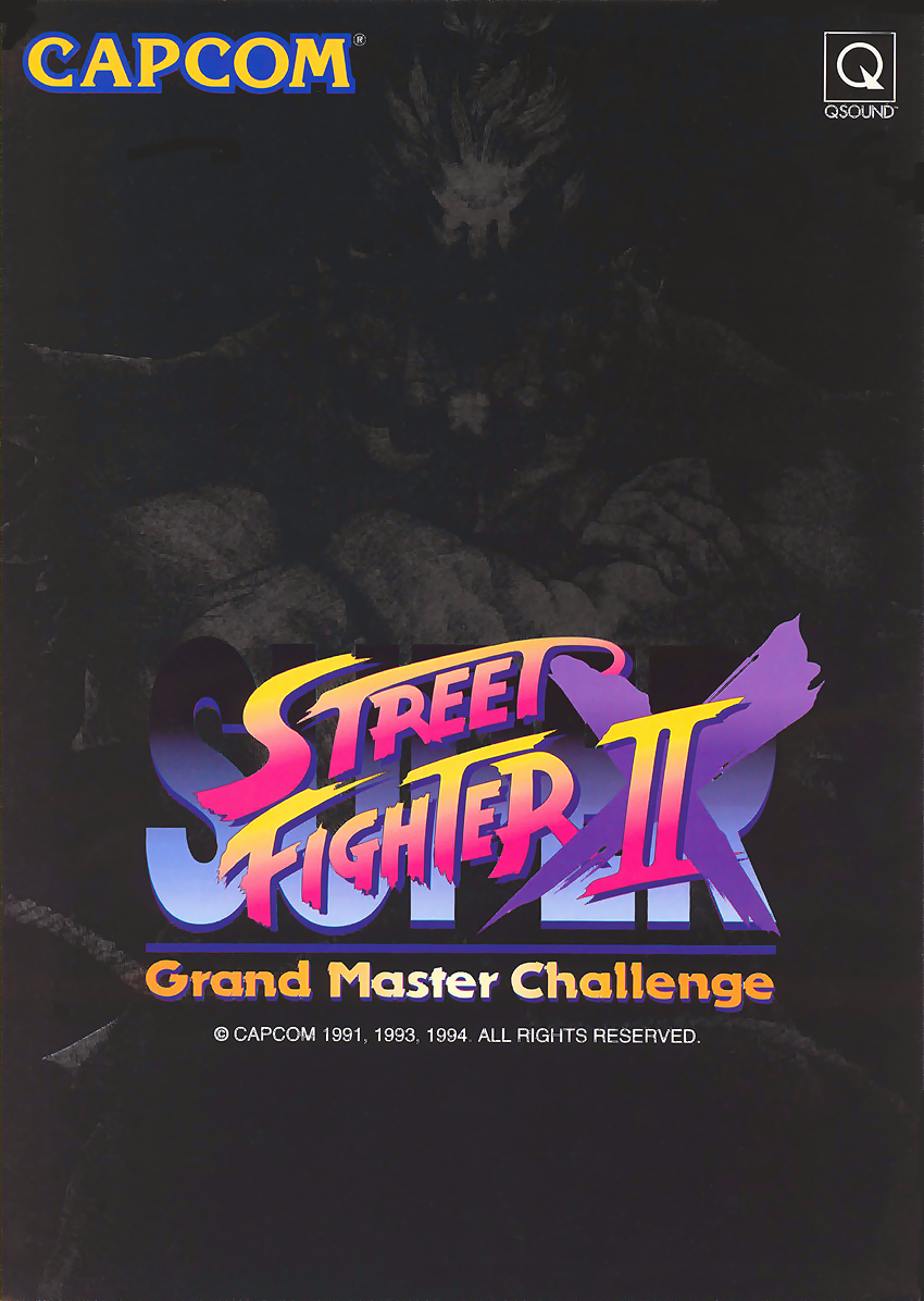 Super Street Fighter II X: Grand Master Challenge (Japan 940311) flyer