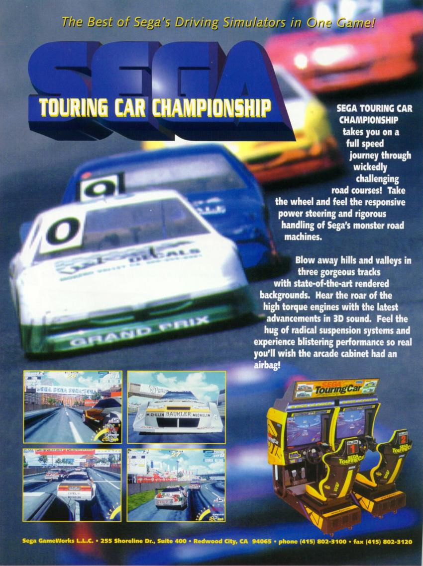 Sega Touring Car Championship (Revision A) flyer