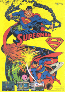 Superman (Japan) flyer