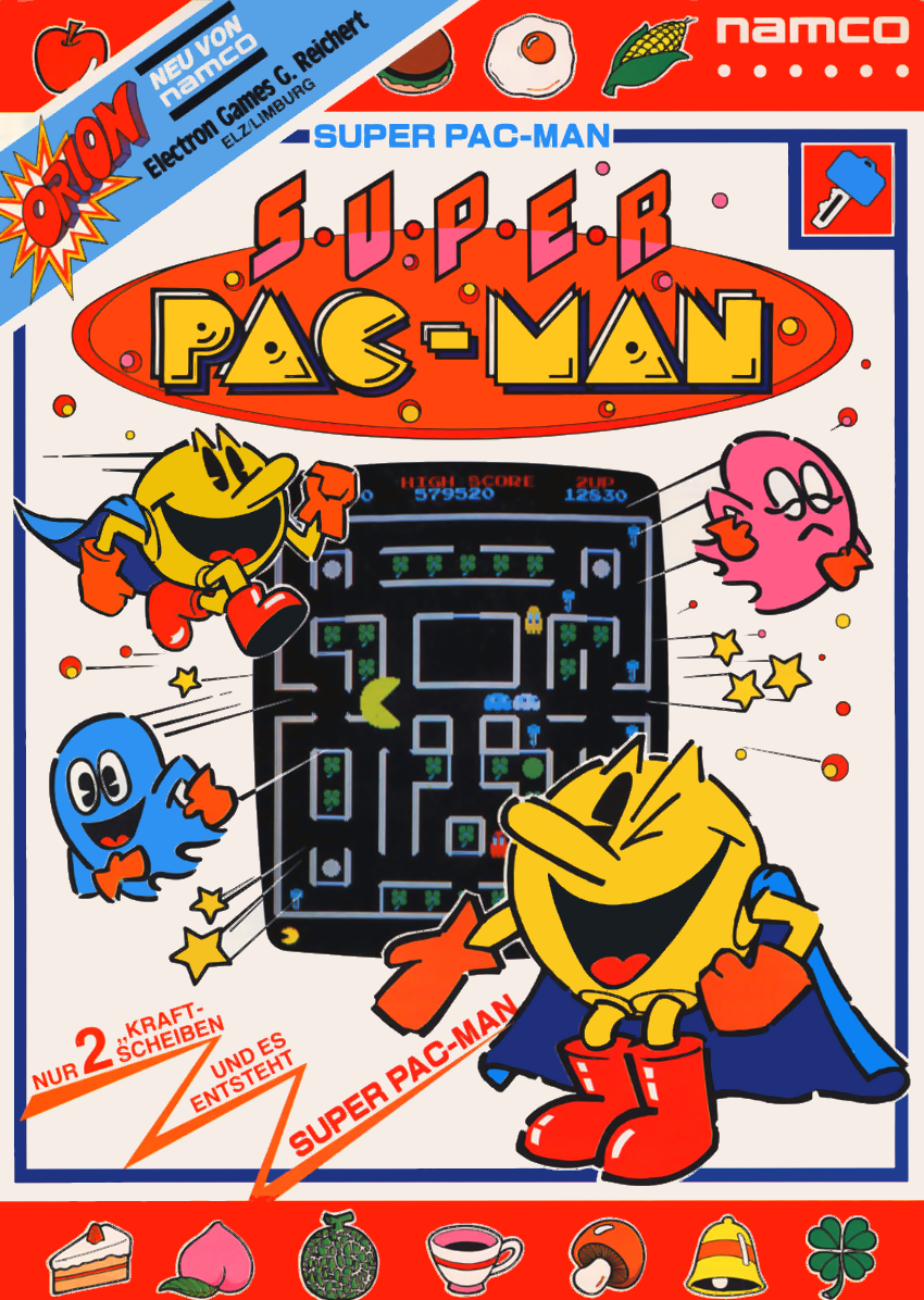Super Pac-Man flyer