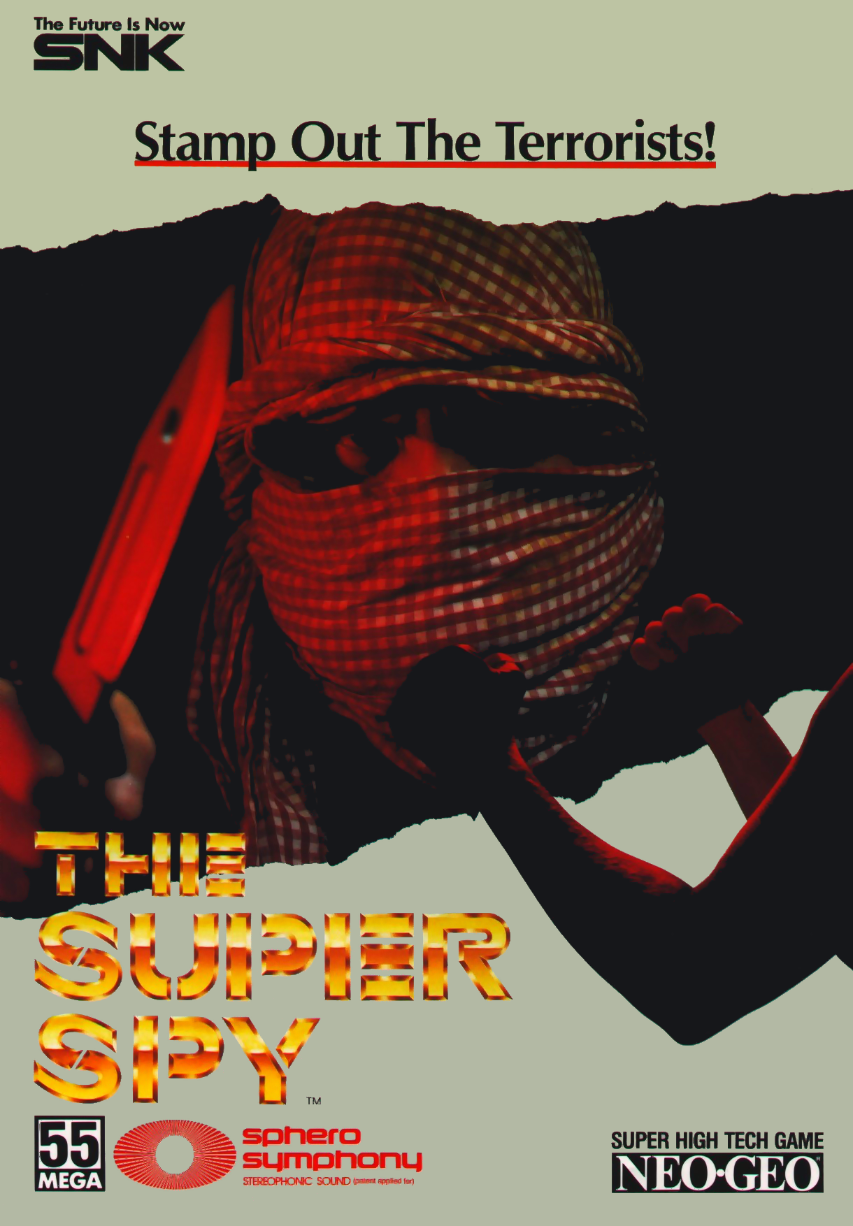 The Super Spy flyer