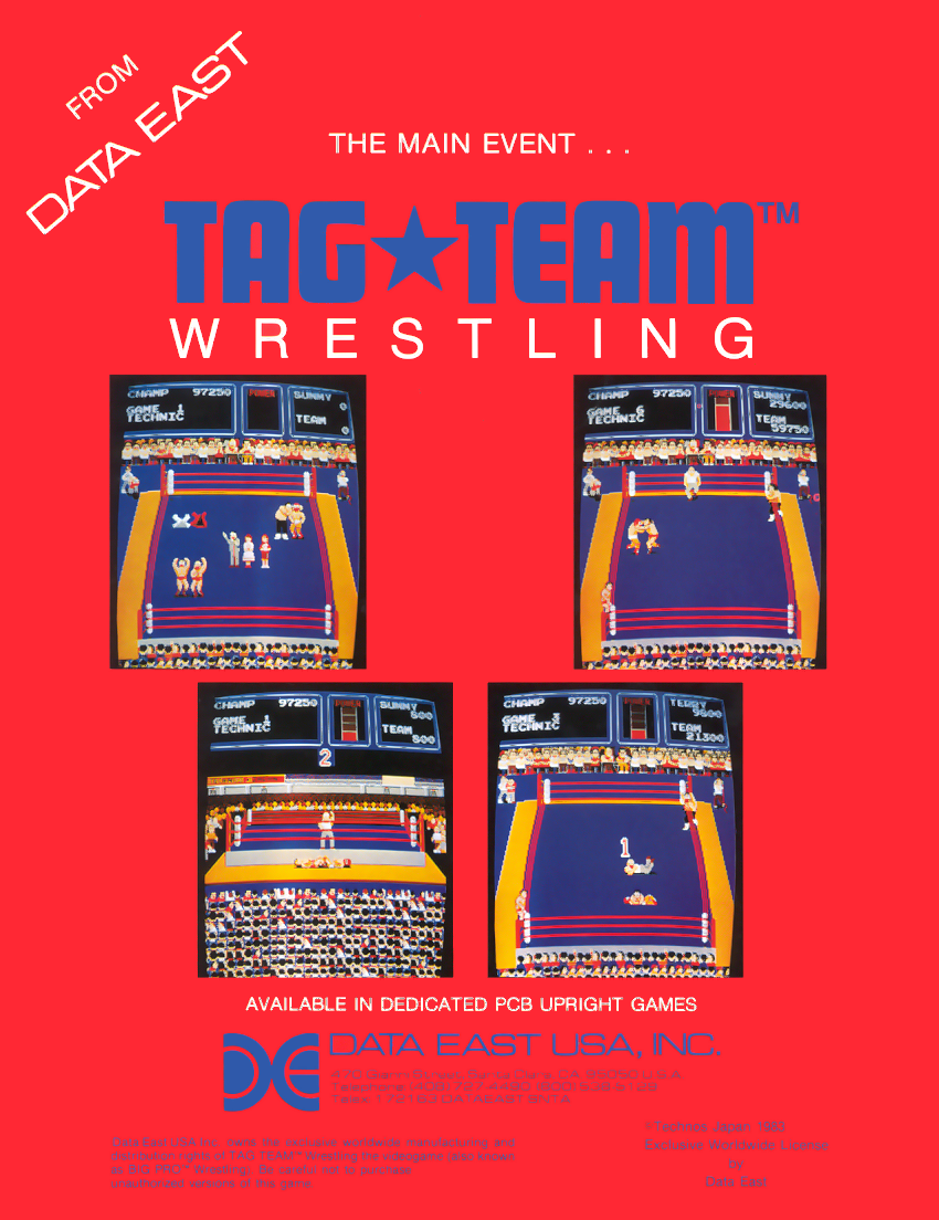 Tag Team Wrestling flyer