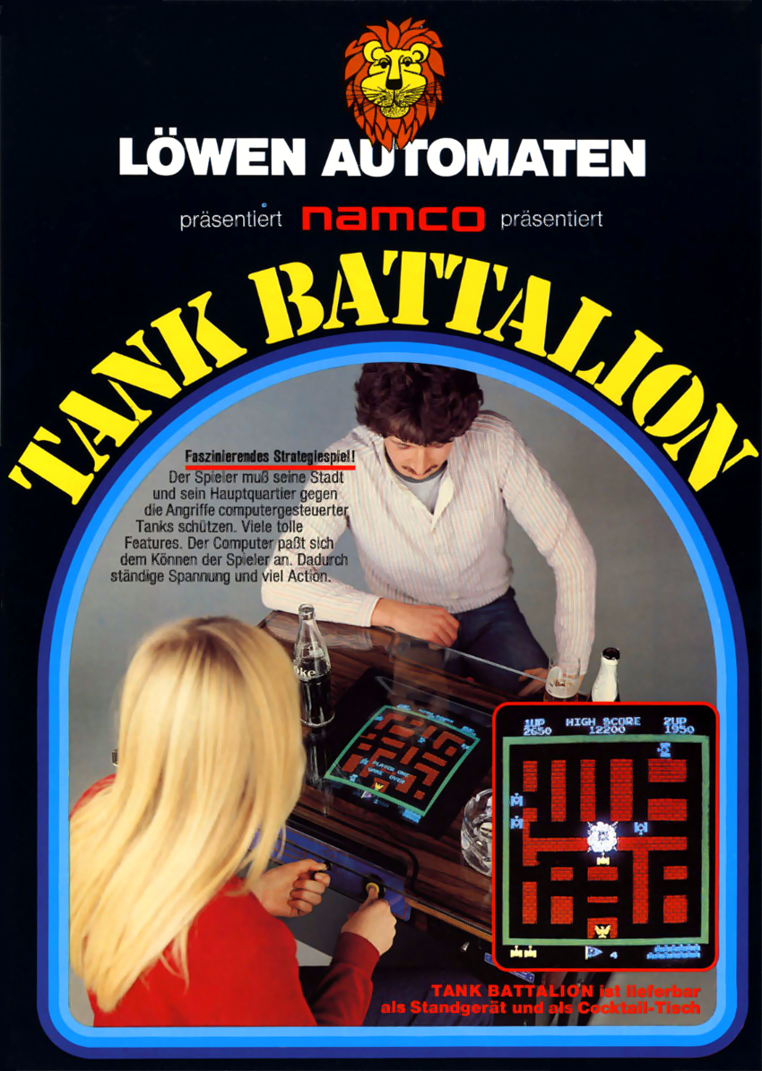 Tank Battalion flyer