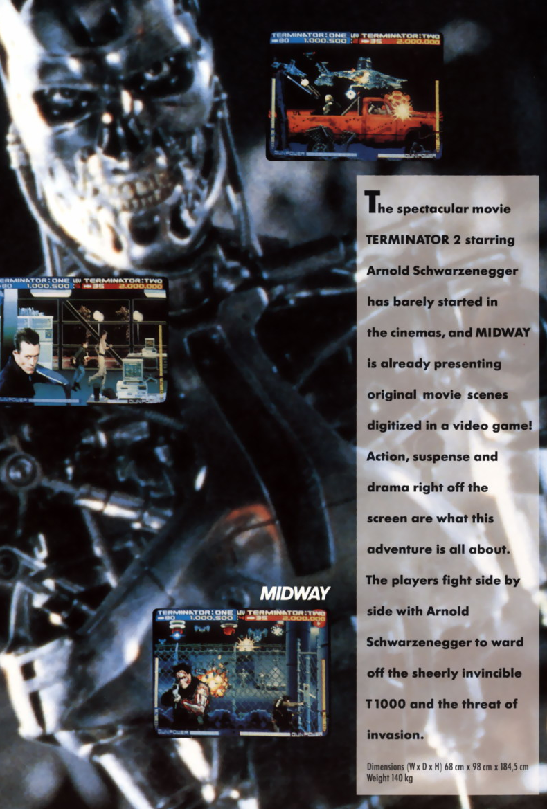 Terminator 2 - Judgment Day (rev LA2 12/09/91) flyer
