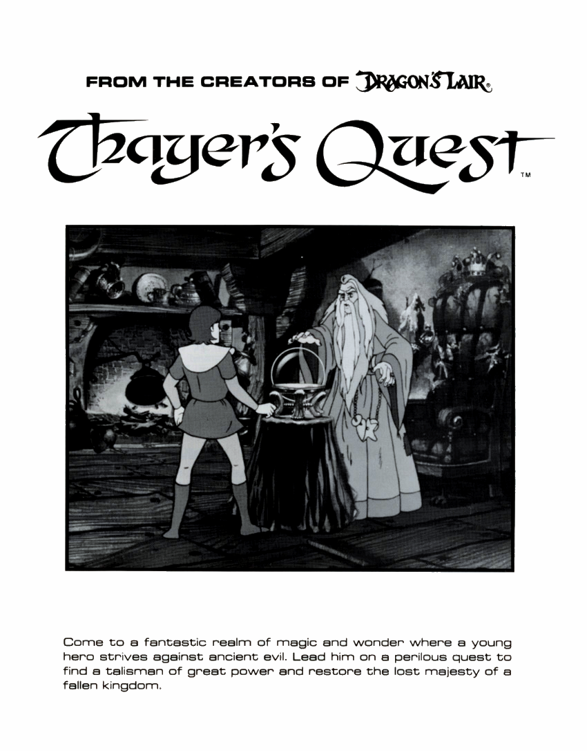 Thayer's Quest (set 1) flyer