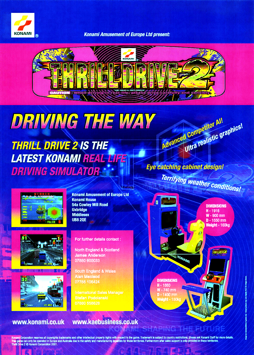 Thrill Drive 2 (ver EBB) flyer
