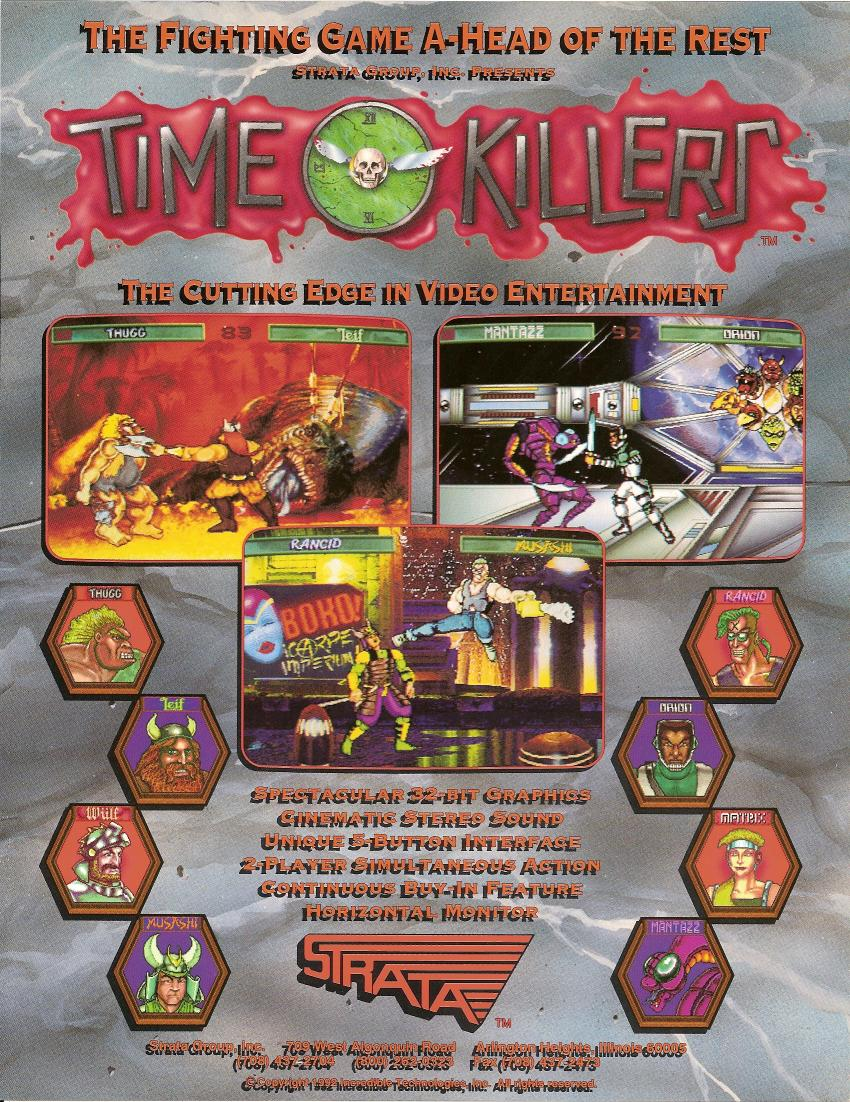 Time Killers (v1.32) flyer
