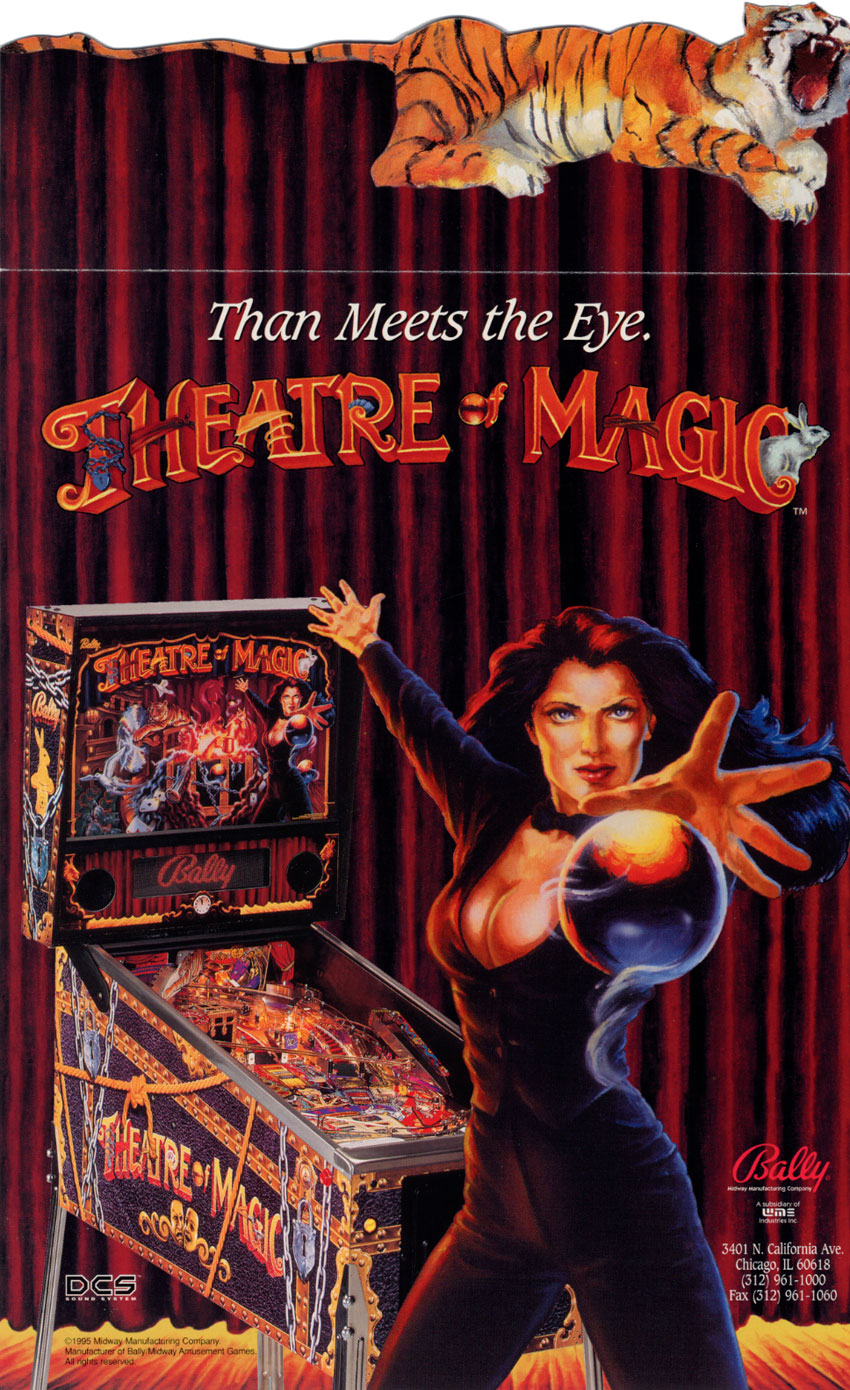 Theatre Of Magic (1.3X) flyer