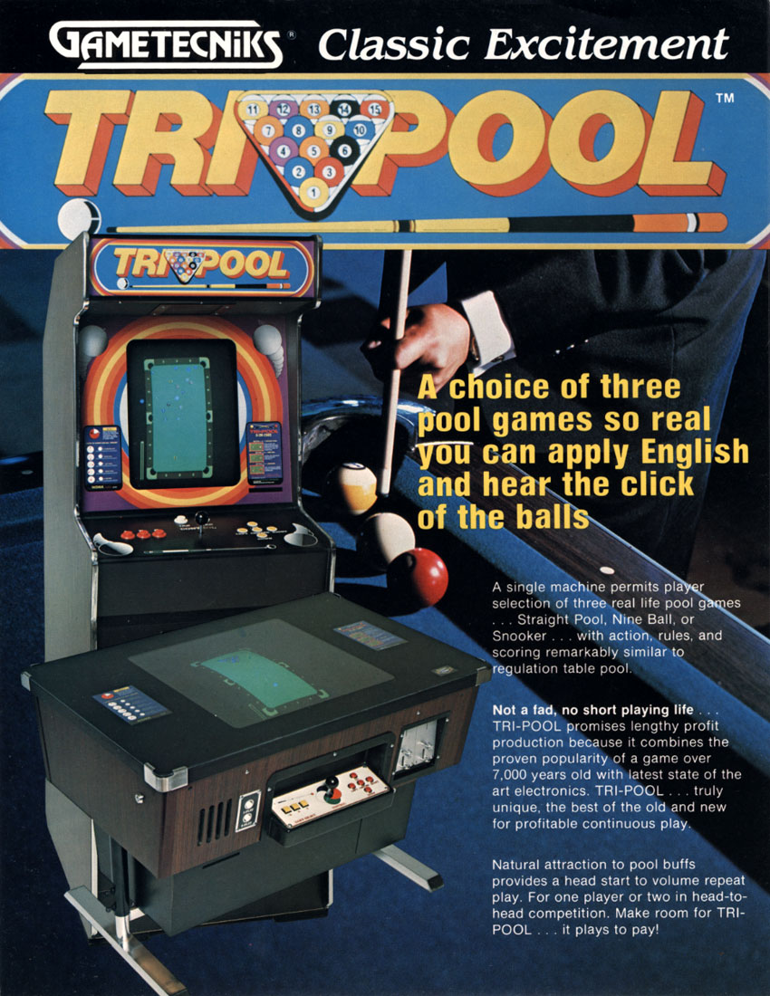 Tri-Pool (Casino Tech) flyer