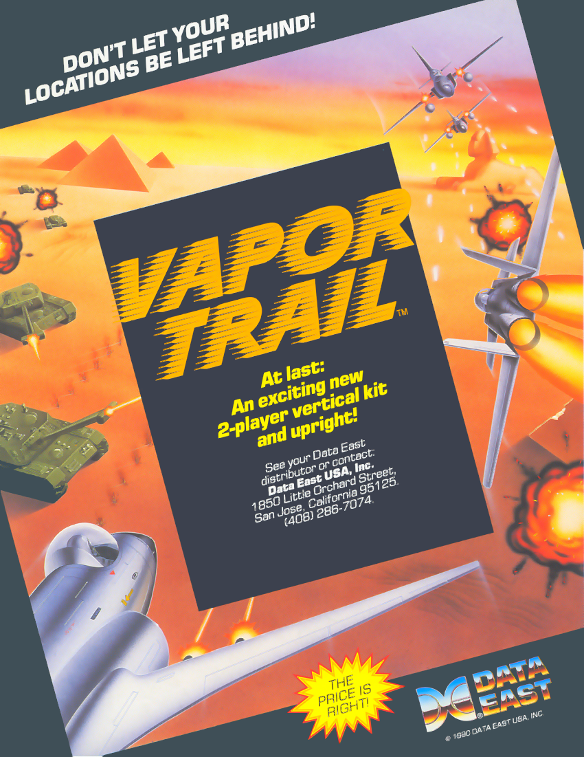 Vapor Trail - Hyper Offence Formation (World revision 1) flyer