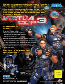 Virtua Cop 3 (Rev B) (GDX-0003B) flyer
