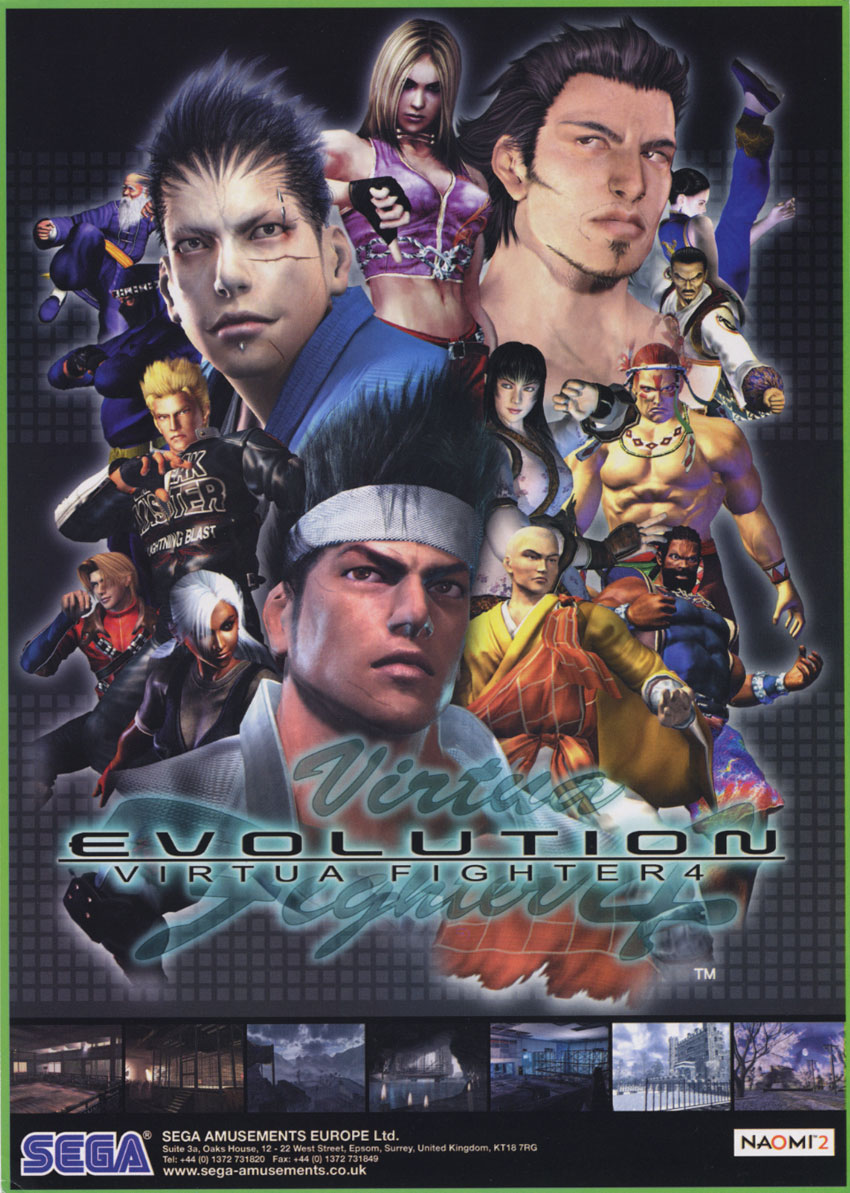 Virtua Fighter 4 Evolution (Version B) (Japan) (GDS-0024B) flyer