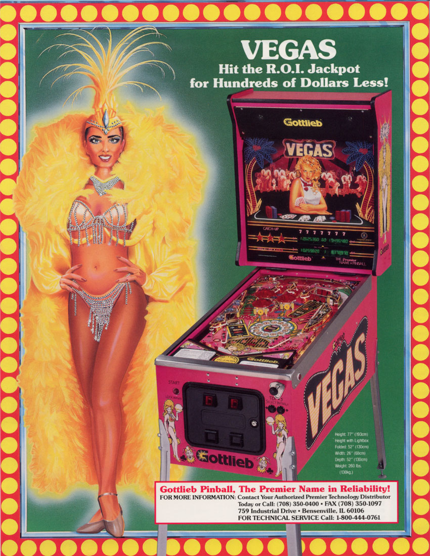 Victory (Pinball) flyer