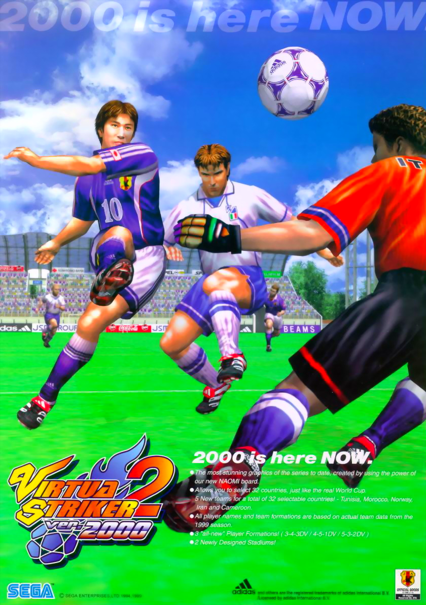 Virtua Striker 2 (Step 1.5) flyer