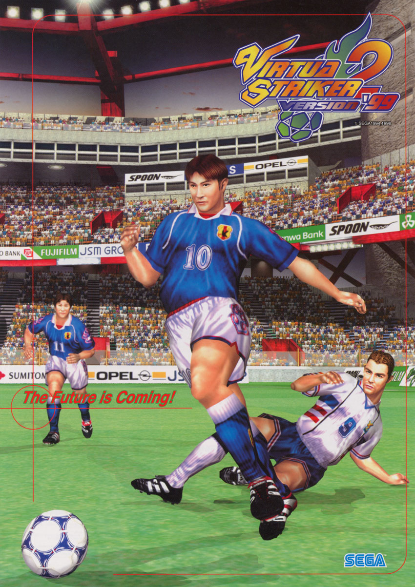 Virtua Striker 2 '99 flyer