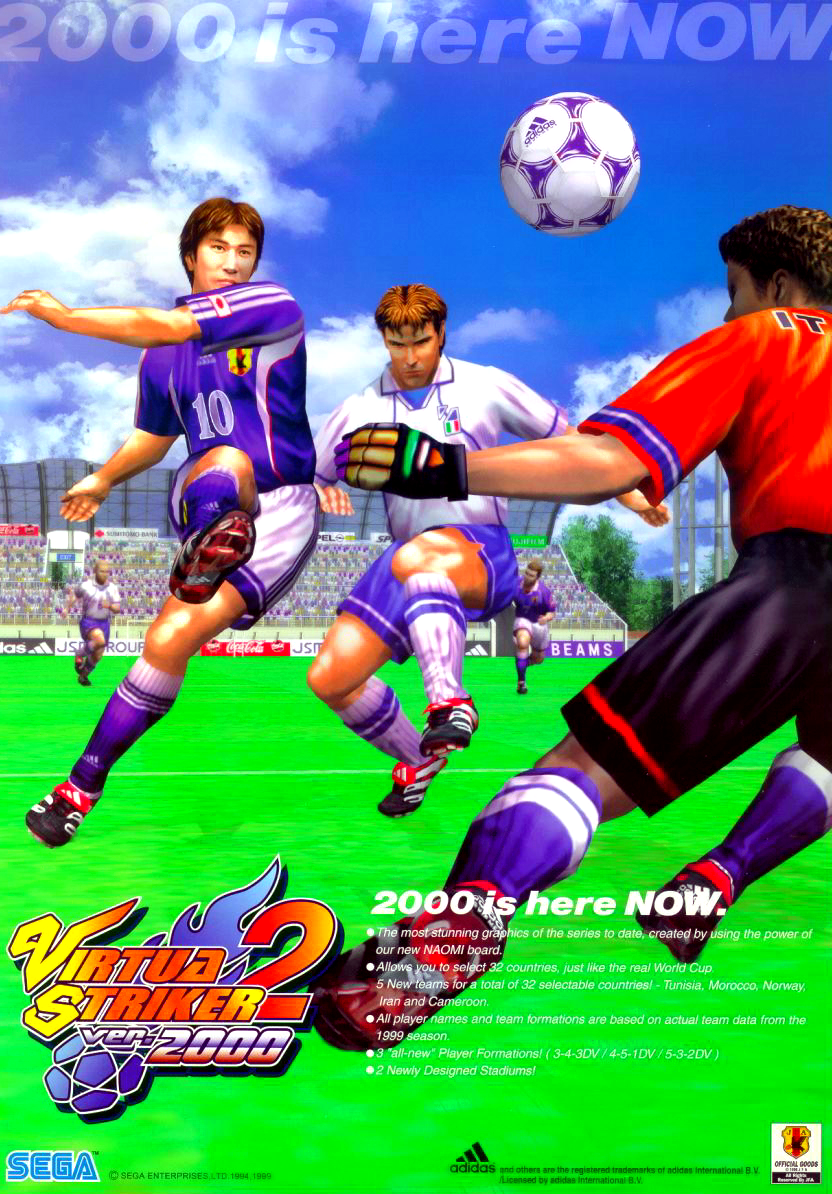 Virtua Striker 2 Ver. 2000 (Rev C) flyer