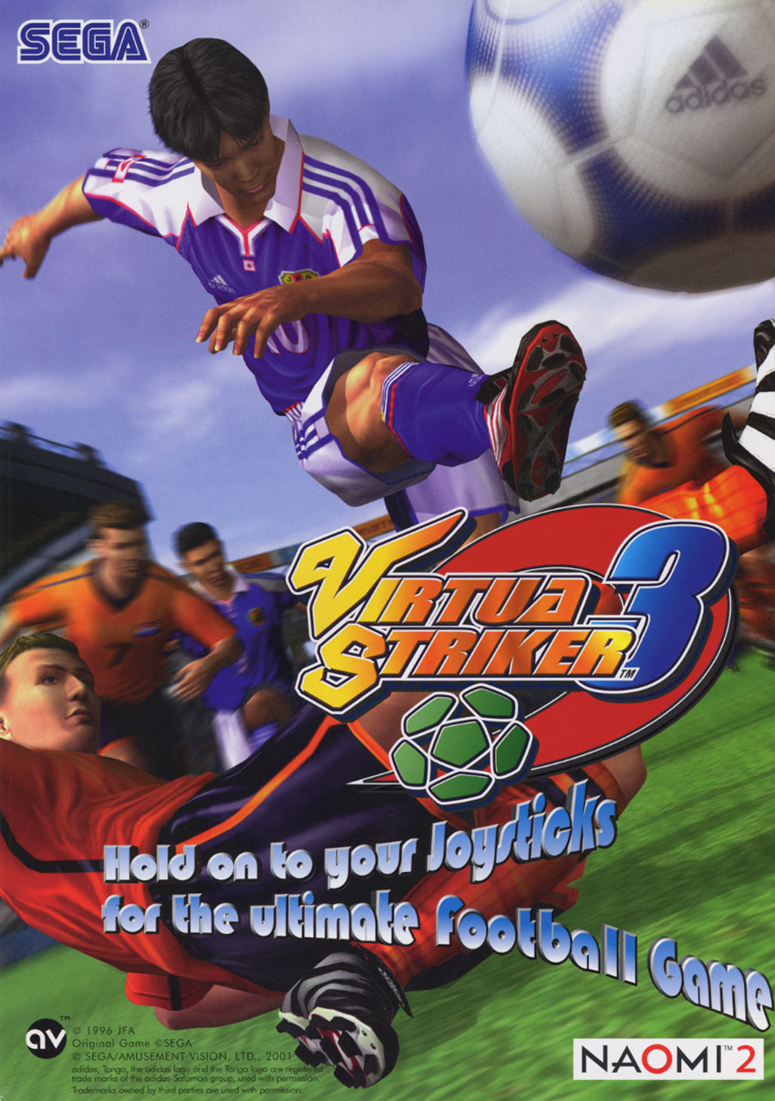 Virtua Striker 3 (World, Rev B) flyer
