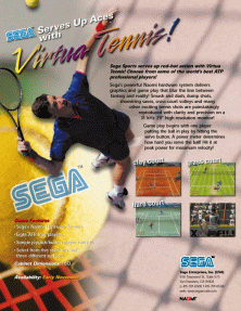 Virtua Tennis / Power Smash (GDS-0011) flyer