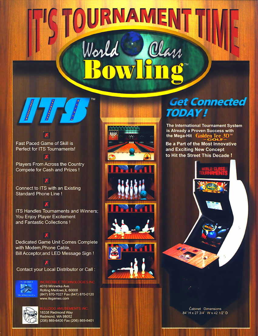 World Class Bowling (v1.66) flyer