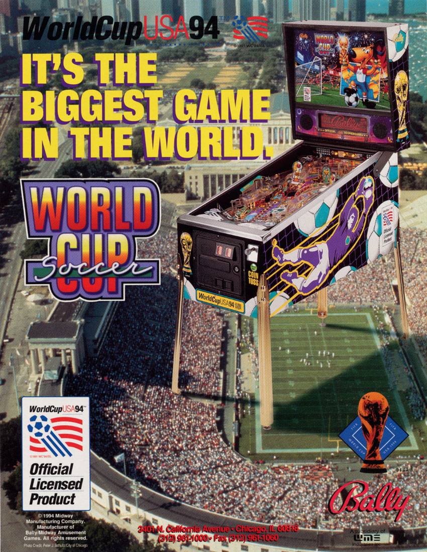 World Cup Soccer (Lx-2) flyer