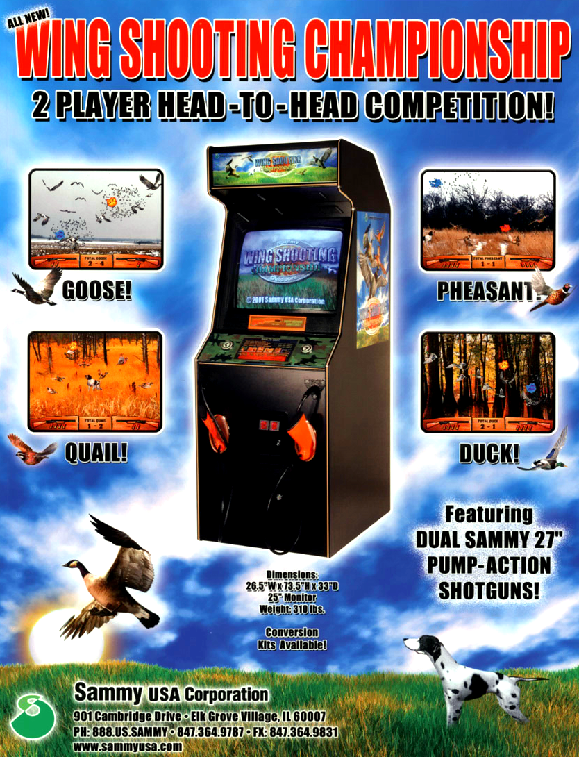 Wing Shooting Championship V2.00 flyer
