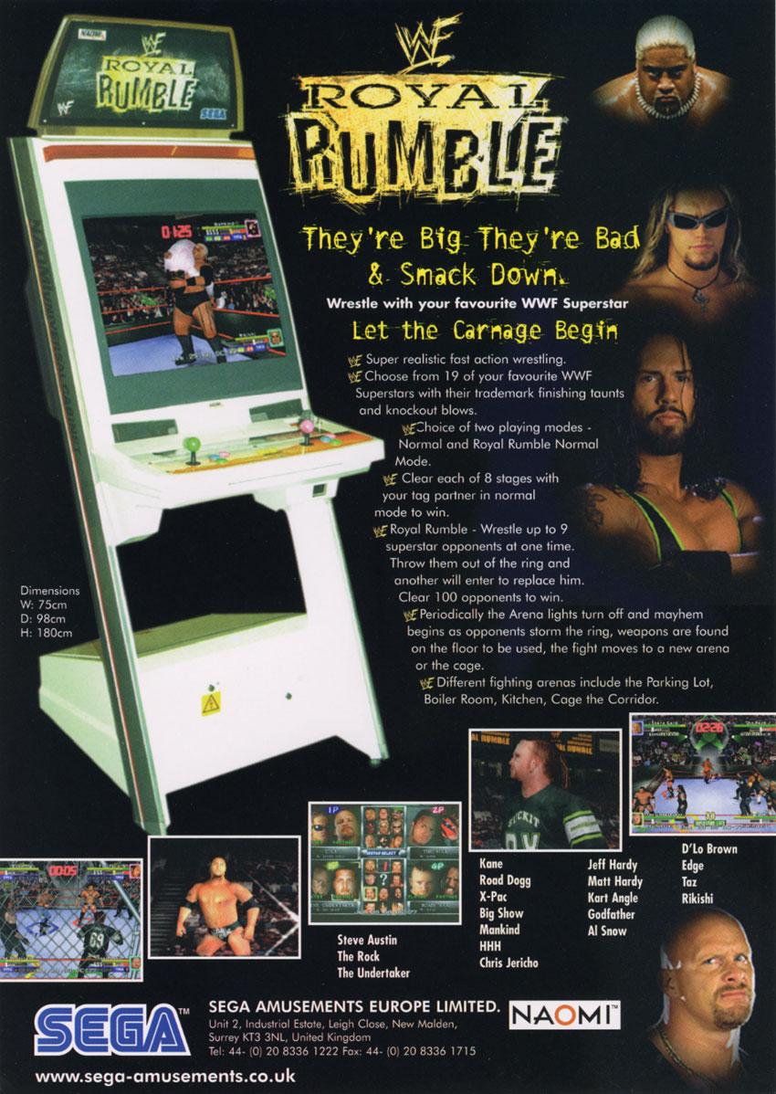 WWF Royal Rumble flyer