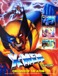 X-Men: Children of the Atom (Japan 950105) flyer