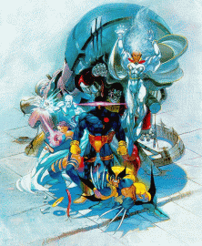 X-Men: Children of the Atom (Japan 941217) flyer