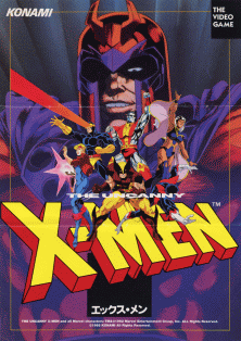 X-Men (4 Players ver JBA) flyer