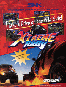 Xtreme Rally / Off Beat Racer! flyer