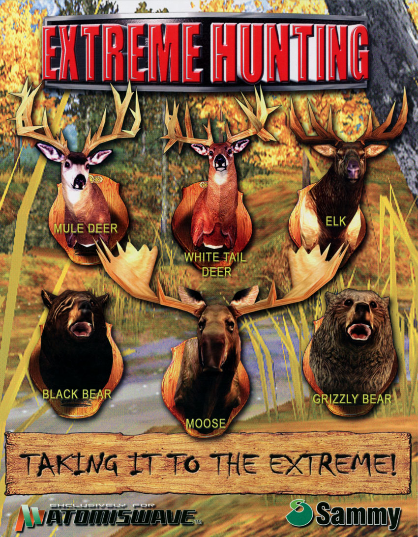 Extreme Hunting flyer