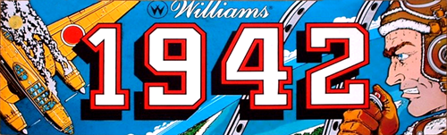 1942 (Williams Electronics license) Marquee