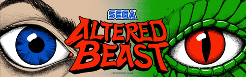 Altered Beast (set 8) (8751 317-0078) Marquee