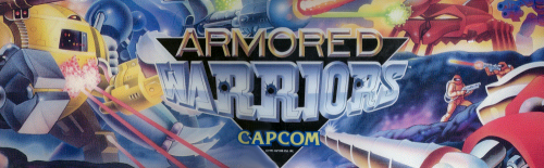 Armored Warriors (Euro 941024) Marquee