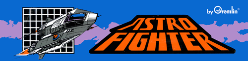 Astro Fighter (set 1) Marquee