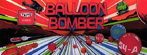 Balloon Bomber Marquee