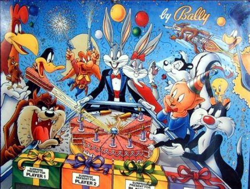 Bugs Bunny Birthday Ball (L-2) Marquee