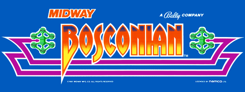 Bosconian (new version) ROM < MAME ROMs | Emuparadise